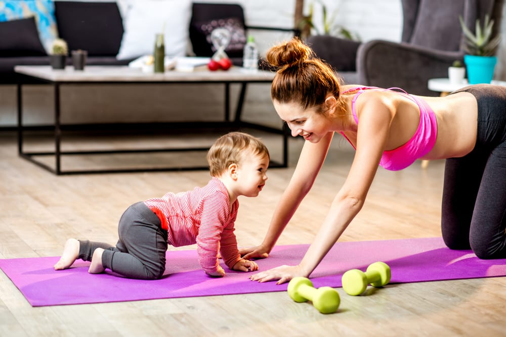 7 minute workout mommy fitness
