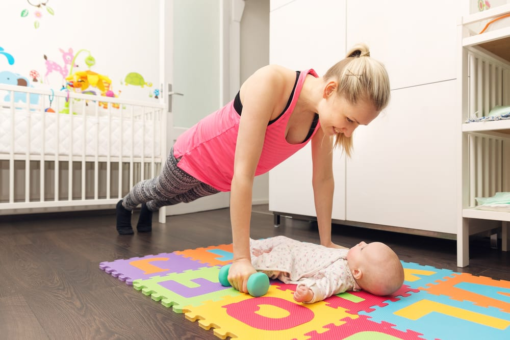 I'm a new mom – Where should I find the time to work out?