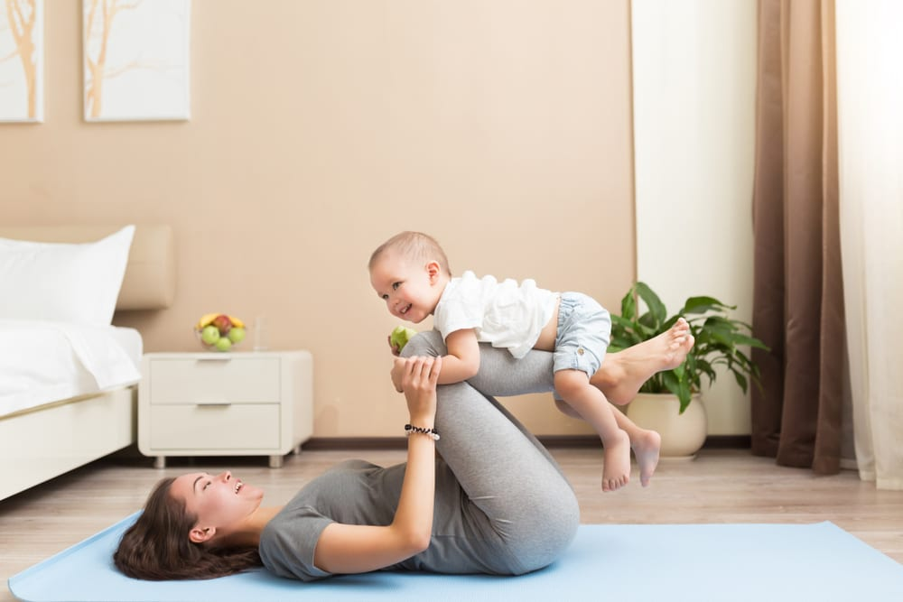 New mom – Which 3 exercises are the most important to start doing?